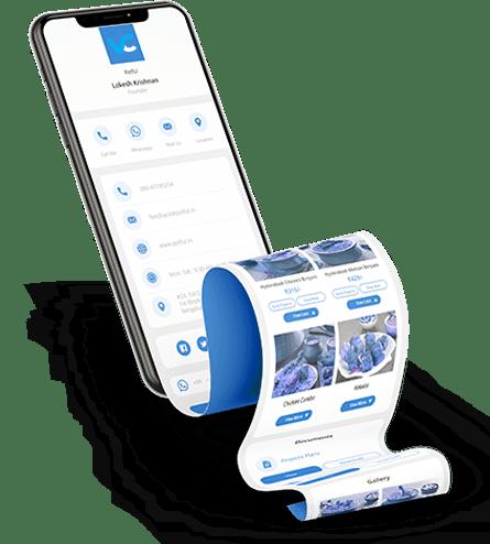 Biglietti da visita digitali Contactless eco-friendly